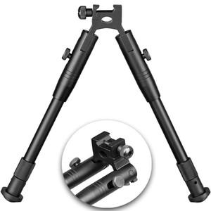 """9"""" 6"""" ila Ayarlanabilir bipod standart 20 mm dokumacı ve Picatinny demiryolu Kalite Alüminyum uyar"""