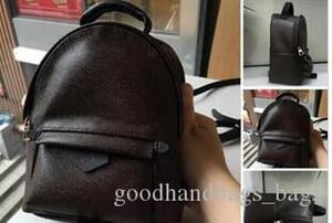 TOP PU hot Hight qualité hommes célèbres designers sacs à main toile sac à dos sac d'école des femmes F1 Brown Backpack Style sacs à dos marques # 558G