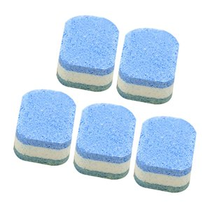 5 Pcs pack Automatic Bleach Toilet Bowl Tank Cleaner Tablets Flush Cleaner Toilet Cleaning Pill Deodorant Cleaning Tools