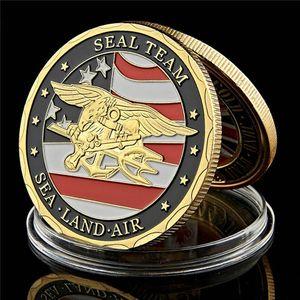 Отдел Вызов Монета армия США Navy Seal Special Forces Medal Of Honor 1oz позолоченного монет