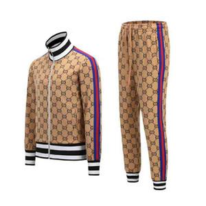 2020 Homens atacado sportswear Sportswear e camisolas Outono Inverno Jogger esportivos Mens fato de treino Suits Tracksuits Set Plus Size M-3XL