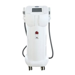 Multifunctional beauty equipment 2 handles skin hair removal IPL machine for sale