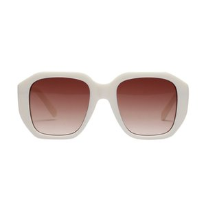 2020 Fashion New Full Frame Round Sunglasses Tide Character Korean Ink Mirror Men Women Sun Glasses Polycarbonate 7 CM