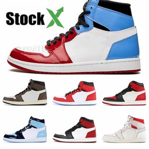 Shoes 2020 Og Jumpman Designer Womens Fashion Sneakers J1 1S Jd 1 High Basketball Shoes White Black Red Blue Grey Cheap Sale #220