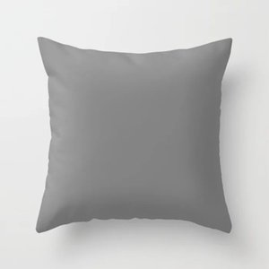 회색 기하학적 쿠션 커버 폴리 에스테르 던져 베개 자동차 소파 장식 베개 케이스 미니멀 스타일 현대 홈 인테리어 침대