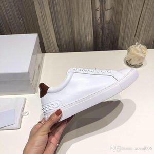 Moda Tasarımcısı ayakkabı siyah beyaz pembe Konfor Kız Kadınlar Sneakers Deri Ayakkabı Casual lüks ayakkabı hx18100201 Mens