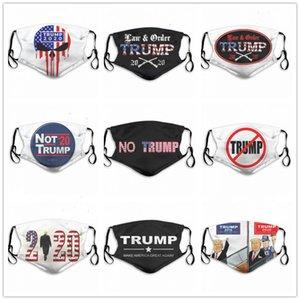 USA Donald Trump Waschbar einstellbar wiederverwendbar 2ST Kohlefilter sicher Außensportstaubdicht atmungsaktiv Masken Designer Gesichtsmaske gedruckt