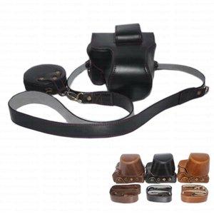 Canon M50 için Remolable Full Lens Kılıfı Açık Kapaklı Omuz Askısı (M50)