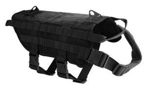Tactical K9 Tactical 1000D Nylon Molle-System Hundetraining Hundegeschirr Weste Kleidung im Freien Schutzkleidung