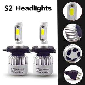 LED faro H4 faro H11 Niebla lámpara H8 Niebla luz H1 H3 H7 H1 9005 HB3 9006 HB4 9012 H27 9,004 9,007 9,008 H13 chip COB 2 Piezas S2 original