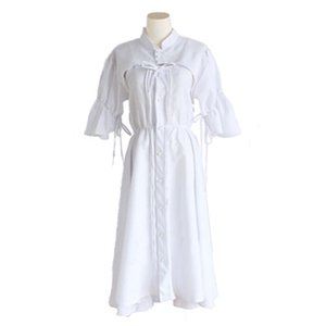 Sora Kasugano Dress Yosuga no Sora In Solitude Where We Are Least Alone Cosplay Sora Women Lolita White Party Dresses