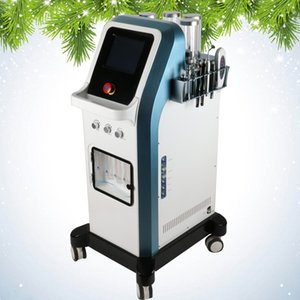 7 in 1 tecnologia Israele 8 bar ossigeno jet peel acqua dermoabrasione hydra viso microcorrente hydradermabrasion oxgen iniettore spa macchina