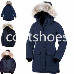 Женское пальто Зимняя пуховая куртка Mysique бренд-дизайнер с капюшоном парки Женская одежда теплая для дам наружные пальто плюс размер S-3XL
