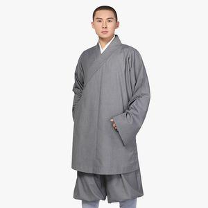 Uniformi autunno della molla Unico Visualizza Shaolin Monaco buddista Robes giacca pantalone Suits cinese Kung Fu Templi buddisti Vestiti di sport