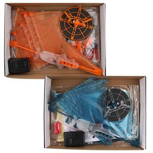 24pcs / много летучей рыбы Ассамблея Clown Fish IR RC воздуха пловец акулы Clownfish дистанционного управления Воздушный шар Надувные смешные игрушки для детей LA298