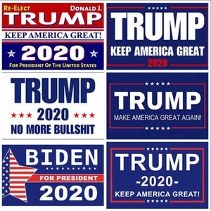 Trump 2020 Flag Donald Trump Flag 90*150cm Keep America Great Again Biden USA President Re-elect Banner Flags OOA8006