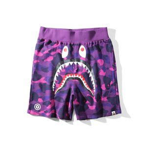 fashion Ape shark shorts a bathing AApe Japan Shark Jaw Shorts Camo mens designer Pants Off Apes head pants White a bathing