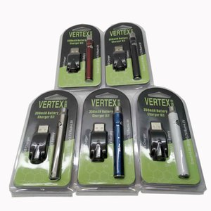 Hot Selling Preheat Battery Blister Pack 5 Colors 350mAh Vertex Preheating Variable Voltage Battery for Thick Oil Atomizer Tank CE3 Vapes