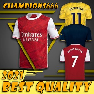 TOP Arsen camisa de futebol 20 21 PEPE NICOLAS CEBALLOS HENRY GUENDOUZI SOKRATIS Maitland-NILES TIERNEY 2020 2021 camisa de futebol Homens kit