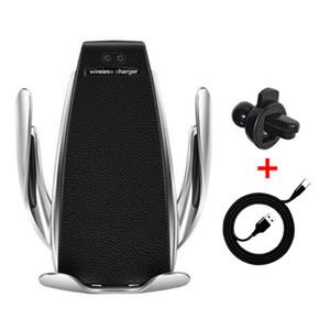 Supporto automatico per telefono cellulare Supporto per caricabatterie Supporto per caricabatterie per auto Supporto per presa d'aria per iPhone Xs Max XR Samsung Fast Charg
