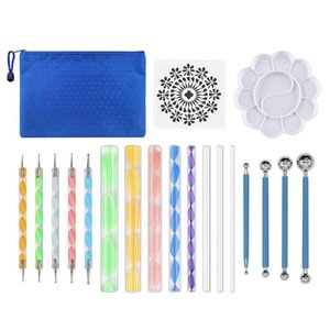 19 Pieces DIY Art Clay Pottery Tool Set Crafts Clay Sculpting Tool Kit Pottery & Wooden Handle Modeling Tools