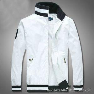 mens designer Polo jacket The explosion flight men small horse hip hop motorcycle Brand Designer zipper Baseball hot sale