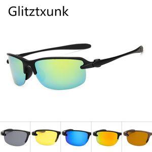 Glitztxunk Polarized Sunglasses Men Brand Designe Driving Fashion Sun Glasses For Woman Male Square Goggles Eyewear Oculos UV400