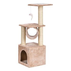 Moda del marco del animal doméstico del marco del marco del árbol de los rasguños del tablero del tablero del juguete del juguete de los gatos Suministros de las ventas directas de fábrica