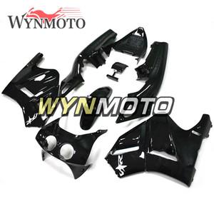 Gloss Pure Black Kit completo de carenado para Honda RVF400R NC35 V4 1993 1994 1995 1996 1997 1998 RVF400R ABS plástico motocicleta carenados Carrocería