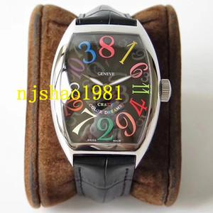 Beste Qualität Armbanduhr CRAZY STUNDEN 8880 Paare Art mechanische automatische Edelstahl-Mann-Männer Frauen Frauen-Uhr-Uhren Armbanduhren
