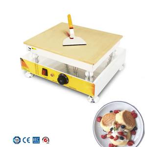 Küçük sufle kek makinesi Elektrikli kalınlaşmış bakır levha Dorayaki Makinesi ticari kalbur pan café çay dükkanı pasta ekipmanları