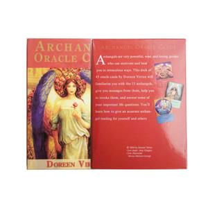Arcángel Tarjetas Oracle Tarot Tarjetas Leer Mythic El destino adivinación de la fortuna juegos 45-Cards