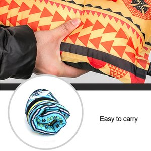 NEW 1PCS Outdoor Ethnic Wind Automatic Inflatable Pillow Suitable For Travel Camping Hiking Riding Fishing Portable Air Cushion