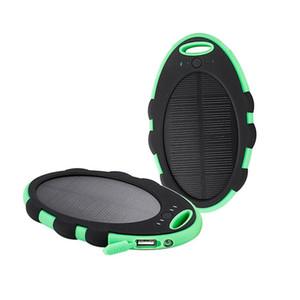 Impermeable 10000mAh cargador de batería externo el Powerbank paquete eléctrico de carga solar banco para todos los teléfonos móviles iPhone X MI