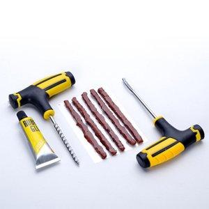 1 Set auto pneumatico di attrezzi di riparazione auto moto senza camera d'aria di vuoto Pneumatici Riparazione Tool Kit patch per Universale Accessori auto