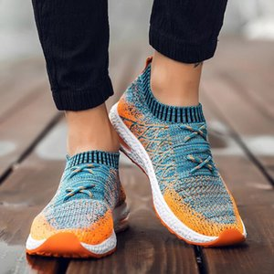 Men's Sneakers male outdoor running shoes breathable casual Shoes Fashion Trainers Lace Up with high quality