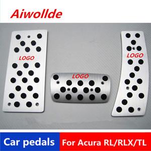Auto Accessoires pédales de voiture en aluminium pour Acura RL / RLX / TL / TSX Pédale d'accélérateur Pédale de frein Pédale Repose-pieds