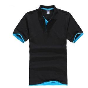 New 2020 Men's Polo Shirt Breathable Camisa Masculina Designer Polos Male Cotton Short Sleeve shirt Brands Jerseys Golftennis