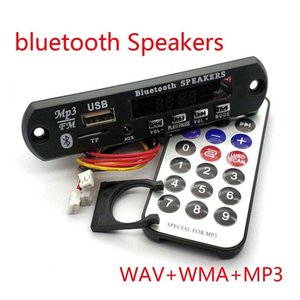 Cheap Replacement Parts & Accessories 12V Car Wireless Bluetooth MP3 WMA Decoder Board Audio Module USB TF Radio with Remote Controller