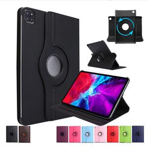 360 Вращающийся Флип PU Кожаный Чехол для iPad Pro 11 12,9 Дюйма 2020 Samsung Galaxy Tab S6 Lite P610 A 8.4 T307 Huawei Mate 10.4