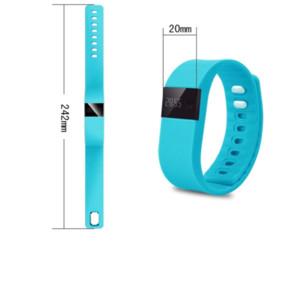 muñequeras actividad fibit tw64 pulsera pulsera de la pulsera inteligente rastreador de ejercicios Bluetooth 4.0 Fitbit Flex reloj para iOS Android