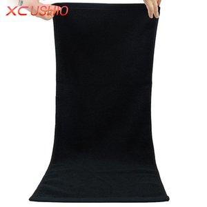 XC USHIO 원피스 100 % 코튼 블랙 34 * 70cm 페이스 타올 70 * 140cm 목욕 타올 Toalla Linteum 냅킨 Handtuch 선물