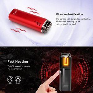 AIRISTECH OFICIAL Airis Switch 3-en-1 vaporizador de hierba seca / cera / aceite de cerámica portátiles Vape Pen 3 balas incluyen kit de cigarrillo electrónico