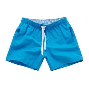 2017 الصيف الرجال شاطئ السراويل كاندي الألوان العلامة التجارية المطبوعة Boardshort برمودا الغمد الساخن بيع آسيا حجم S-2XL