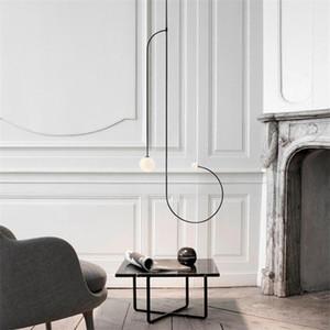 Moderno Ferro Battuto geometrica Led Lampadari da letto Soggiorno Ristorante Lampade a sospensione Illuminazione Decoration hanglamp Luminaria