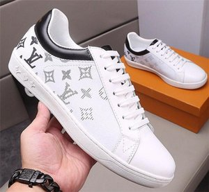 Louis Vuitton LV für Männer Turnschuh-Ebene beiläufige laufende Tennis Comfort Trendy Lace-Up hochwertige Luxemburg Sneaker Fashion Art Schuhe