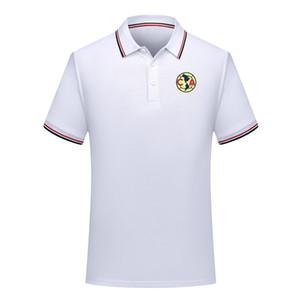 Клуб Америка футбол рубашки поло футбол с коротким рукавом рубашки поло лето мода рубашки поло рубашки поло спорт футбол обучение Джерси мужская