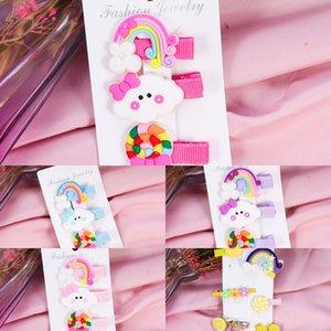 tornante lato clip di Net colore rosso Candy copricapo rete IJ2Ju bambini nethairpin carino principessa copricapo della clip di colore della caramella gli accessori dei capelli del bambino