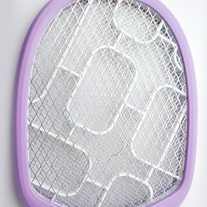 Rechargeable New Mosquito swatter Nets Swatter Bug Insect Electric Fly Zapper Killer Racket Rechargeable With LED