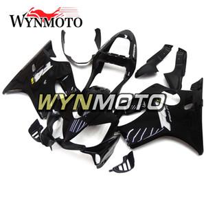 Inyección negra brillante Carenados llenos para Honda CBR600F4i 2001 2002 2003 CBR600 F4i 01 02 03 ABS Plástico Motocicleta Carrocería Nuevos capuchones
